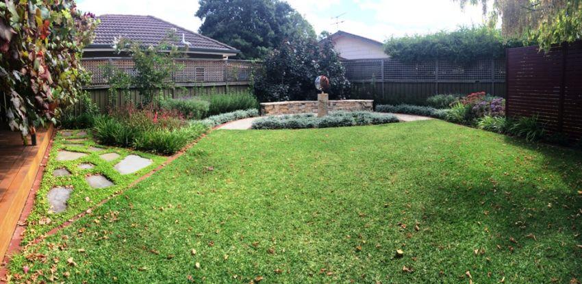 Myrtle bank update caroline dawes garden design adelaide for Garden design adelaide